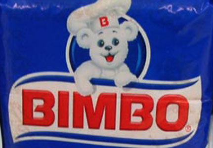 Bimbo Bread ~ 25 of the Worst Bad Product Names