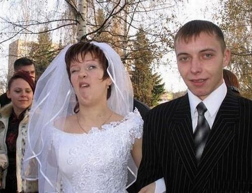 Ugly Wedding Couple Funny Wedding Pictures...