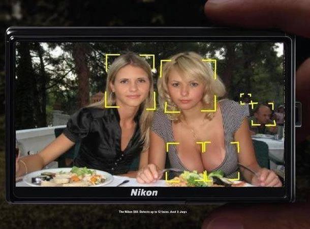 Nikon Camera Focus. Boobs. – Funny Pics & Memes of Weird Random Humor
