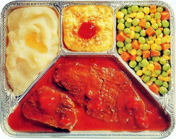 Vintage Swanson TV Dinner ~ 15 Funny Pics & Memes