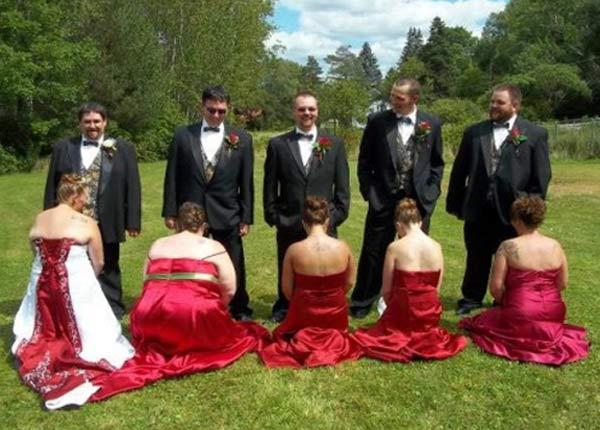 Succumb to 15 Funny Wedding Pics