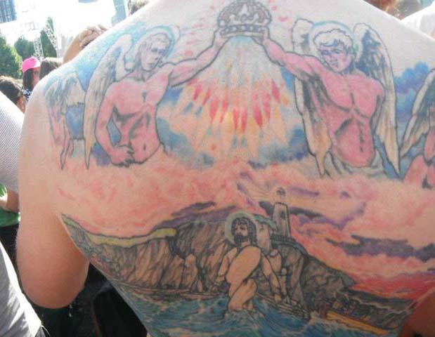 Jesus Walking On Water Tattoo Regretfully Yours: 14 ...