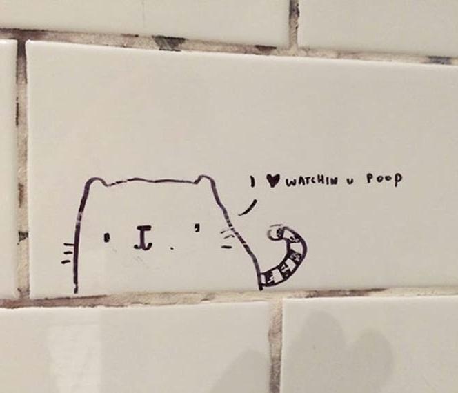 Bathroom Stall Poems funny bathroom wall graffiti design uselesshumor: funny signs: the
