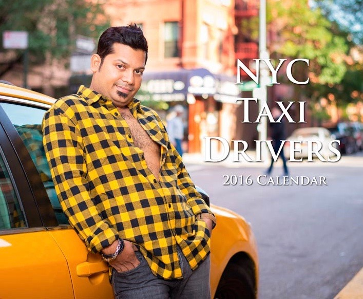 2016 Sexy NYC Taxi Drivers Calendar