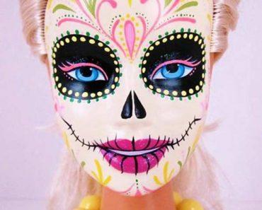 31 Funny Pics & Memes ~ Barbie Sugar Skull