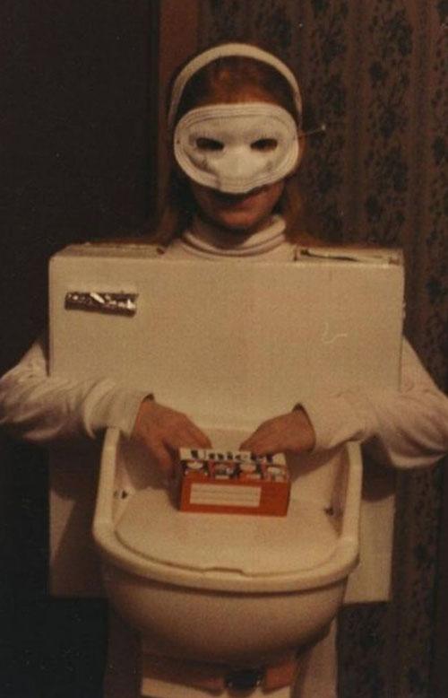 Toilet Girl ~Worst Halloween Costumes: 23 Bad, Stupid & Tasteless