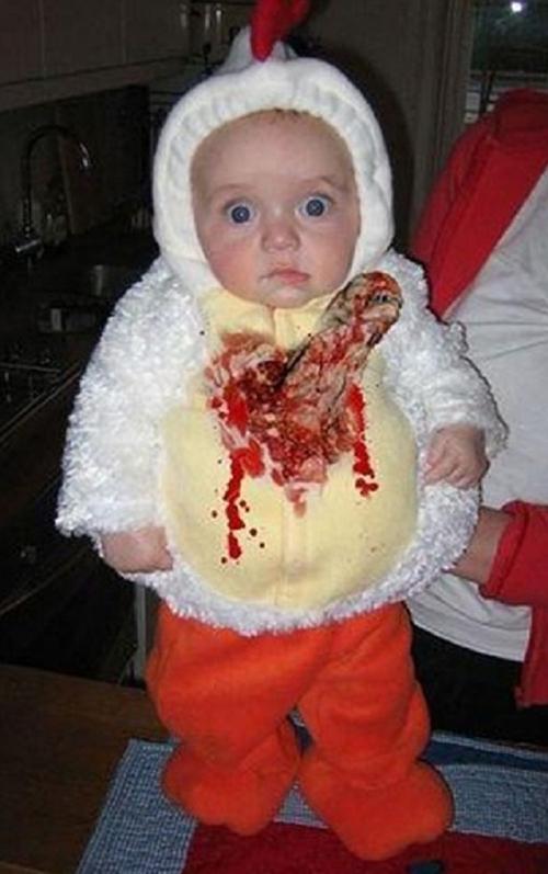 Baby Alien Costume ~Worst Halloween Costumes: 23 Bad, Stupid & Tasteless