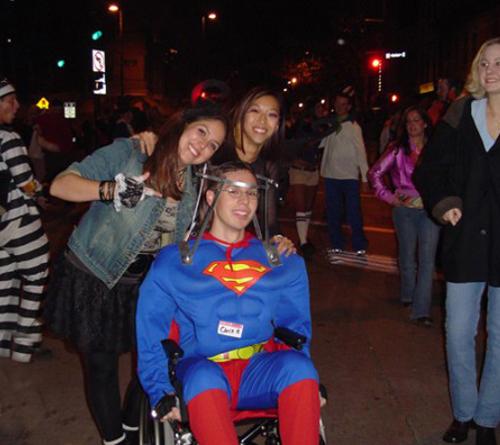 Christopher Reeves Superman costume~Worst Halloween Costumes: 23 Bad, Stupid & Tasteless