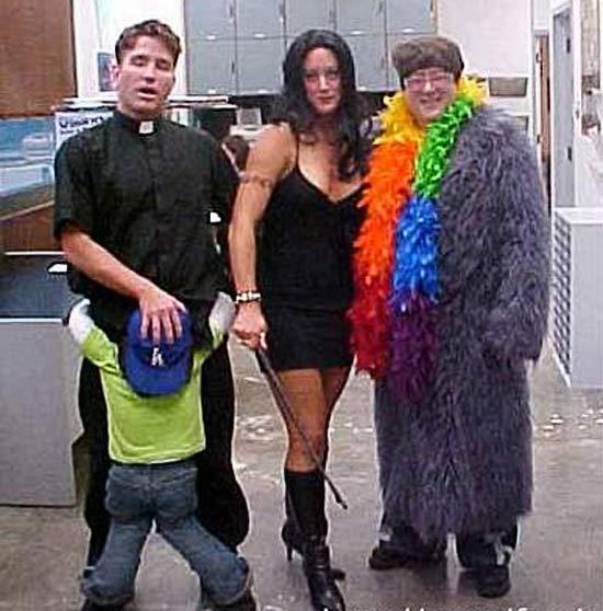 25 Bad to Tasteless Halloween Costumes - Team Jimmy Joe
