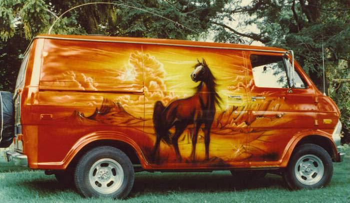 Rock'n'Roll on Wheels: The 1970's Custom Van Craze   Team ...
